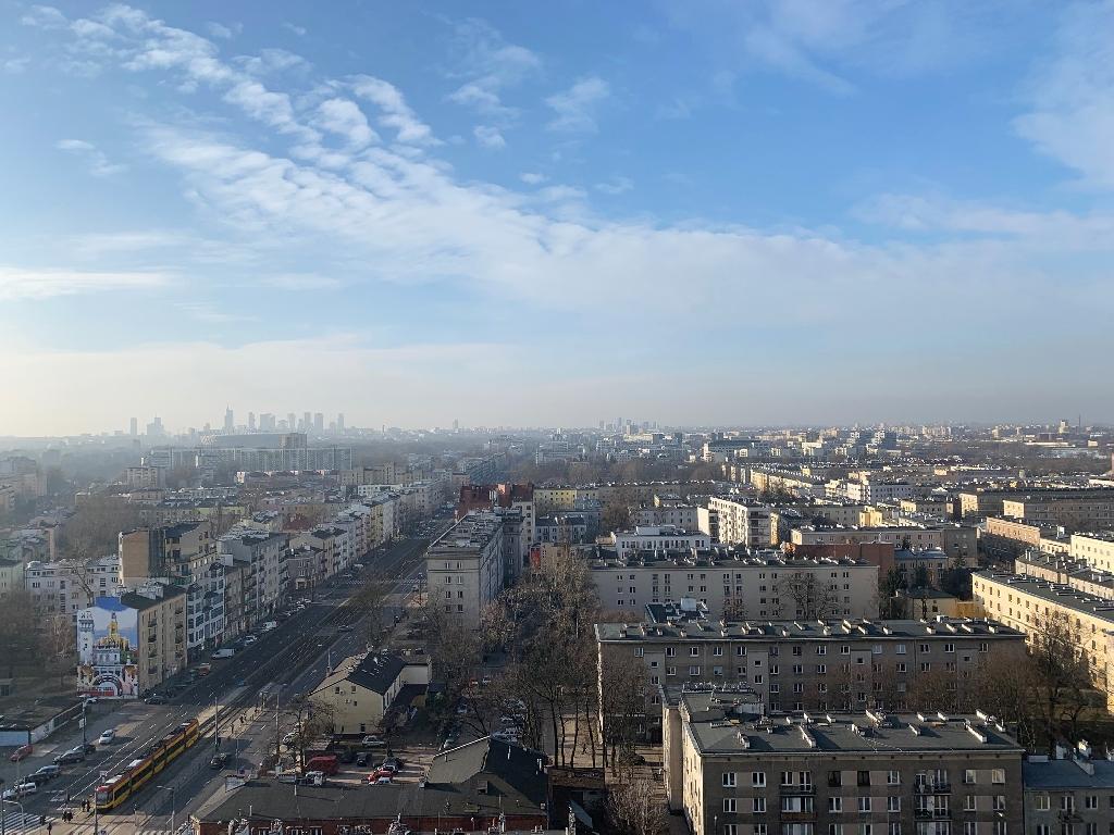 Apartament z niesamowitym widokiem na panoramę Warszawy! Tylko u nas!